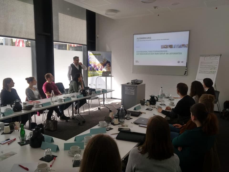 embyd - nachhaltigkeitsberatung, MICE branche, Workshop leitung